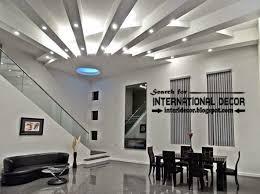 Modern Pop False Ceiling Styles Tips  For Living Space - New modern living room design