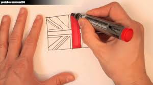 British Flag During Revolutionary War How To Draw A British Flag Youtube