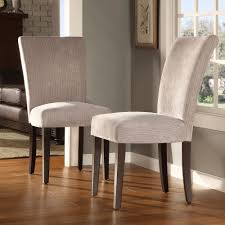 Parsons Dining Chairs Furniture Upholstered Parsons Chairs Ikea In Cream For Home