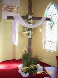 easter religious decorations 119 best church decor images on crosses and