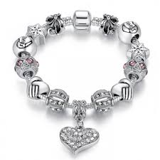 european bracelet charms images European style bracelet with family and heart charm jpg