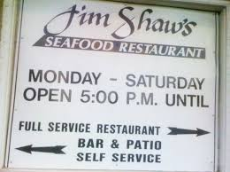 about us jim shaw s seafood resturant grill bar in macon ga