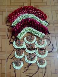flower decoration for hair wedi flowersjadai chennai service provider of hair decoration