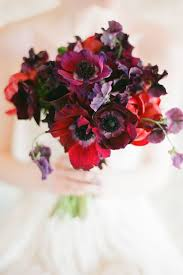 Plum Wedding Crimson And Plum A Bold Wedding Palette With Delicate Details