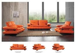 Orange Living Room Set Orange Living Room Set Gallery And Leather Sofa Pictures