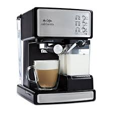 mr coffee under cabinet coffee maker amazon com mr coffee cafe barista espresso and cappuccino maker