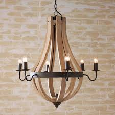 Wooden Chandelier Modern Astonishing Wood And Metal Chandelier 17 Best Ideas About