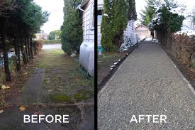 gravel surfaces stabilized for vehicle and pedestrian traffic