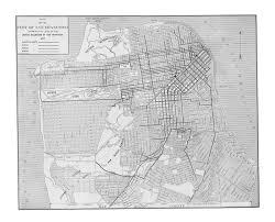 San Francisco Street Map by