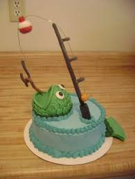 easy fishing cake idea fish cake ideas birthday 29020924 via