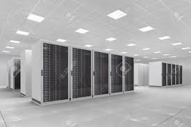 computer center with bunch of server racks stock photo picture