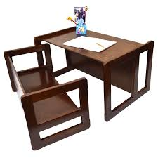 3 in 1 childrens multifunctional furniture set of 2 one small