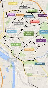 Vcu Map Map Of Richmond U0027s East End Neighborhoods Church Hill People U0027s