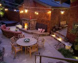 Outside Patio String Lights Outdoor Patio String Lighting Ideas Frantasia Home Ideas Patio