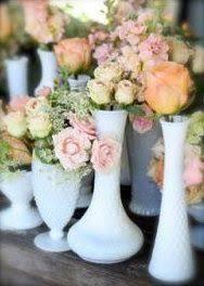 White Glass Vase Vintage 125 Best Vintage Milk Glass Images On Pinterest Centerpieces