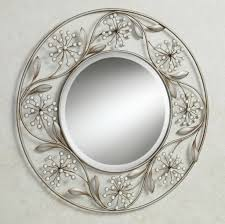 Mirror Decor Ideas Decorating Decorative Wall Mirror Sets With Scenic Metal Wall