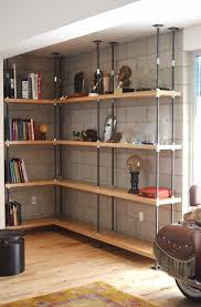 Building Solid Wood Bookshelf by Best 25 Custom Bookshelves Ideas On Pinterest Built In Bookcase
