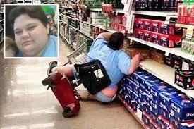 Fat Women Meme - cruel meme victim who tipped scooter in walmart blasts online