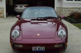 purple porsche 911 1996 porsche 911 carrera2 cab 993 rennlist porsche