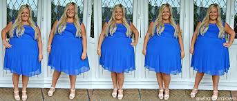 cobalt blue dress gold shoes fashion dresses