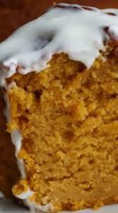 pumpkin pound cake with cream cheese glaze recipe pumpkin