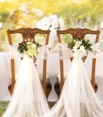 diy wedding chair covers how to make a crushed tulle chair décor diy wedding wedding