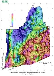Map Of New England States by Gravity Methods Environmental Geophysics Us Epa