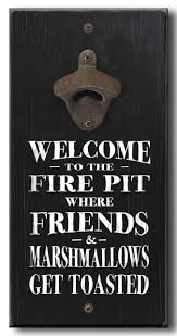 Fire Pit Signs by Country Marketplace Coastal Home Décor Beach Signs And Sayings