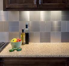 Brushed Stainless Steel Backsplash by 41 Best Kitchen Backsplash Images On Pinterest Kitchen