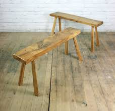 Industrial Bench Seat Vintage Industrial Solid Elm Rustic Farm Bench Seat Cafe Shop