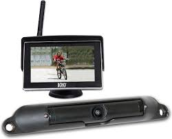 boyo vtc424r wireless rear view camera system with dash mounted