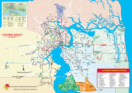 St Johns Florida Map by Jacksonville Transit