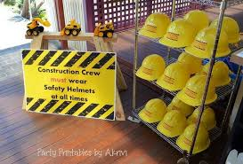 construction party ideas 40 construction themed birthday party ideas hative