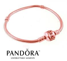 rose gold plated charm bracelet images Stunning rose gold plated pandora bracelet the perfect luxury gift jpg