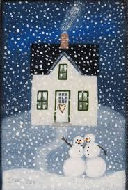 Winter House 1397 Best Winter Bliss Images On Pinterest Naive Art