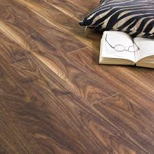 Black Laminate Floors Balterio Stretto Black Walnut 8mm Laminate Flooring V Groove Ac4