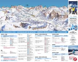 Piste Maps For Italian Ski by Cortina D U0027ampezzo Ski Trail Map Free Download