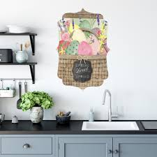 how to remove sticky residue kitchen cabinets basket gallery wall decal