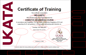 ukata u2013 uk asbestos training association