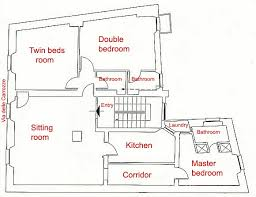 three bedroom floor plans rome steps luxury three bedroom three bathroom apartment