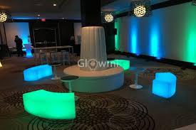 glowmi led furniture u0026 decor corporate events photo u0026 video gallery