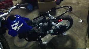 2002 yamaha pw50 checking for spark youtube