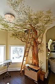 fresque chambre bébé chambre bébé arbre galerie et fresque murale dans la chambre denfant