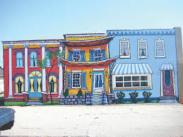 what about the wall gibson county news colorful creations mural artist les macdiarmid has painted more than 60 outdoor murals several of which can be found in gibson county