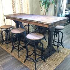 Sofa Bar Table Sofa Table Bar Bar A More Diy Barn Wood Sofa Table