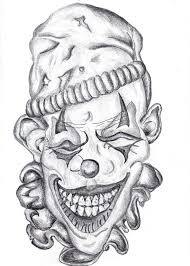scary coloring pages clown printable trafic boosterbiz