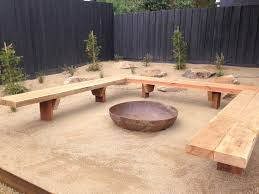 Firepit Seating How To Build A Curved Bench Seating Pit Plans Benches Lowes