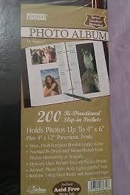 3 ring photo albums 4x6 pioneer leather photo album 200 pockets 4x6 black 3 ring binder