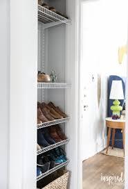 Rubbermaid Fasttrack Closet Diy Custom Shoe Storage Inspired By Charm