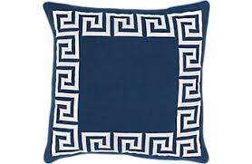 Navy Blue Decorative Pillows Affordable Blue Accent Pillows Rooms To Go Furniture